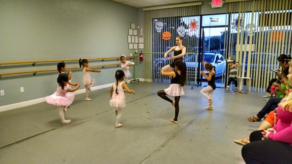 Bay Ballet Academy Pre-Ballet Class