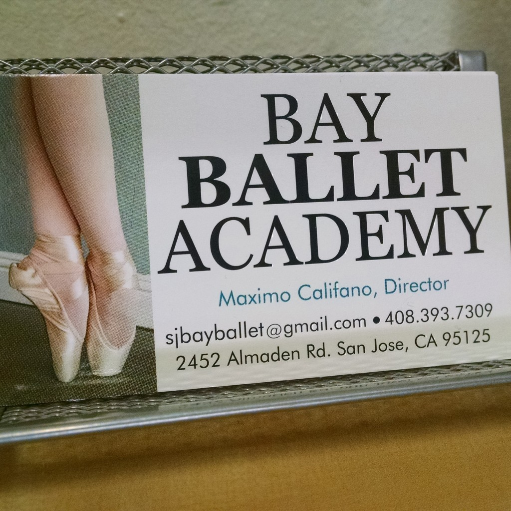 Bay Ballet Academy San Jose CA Dance Classes Maximo Califano