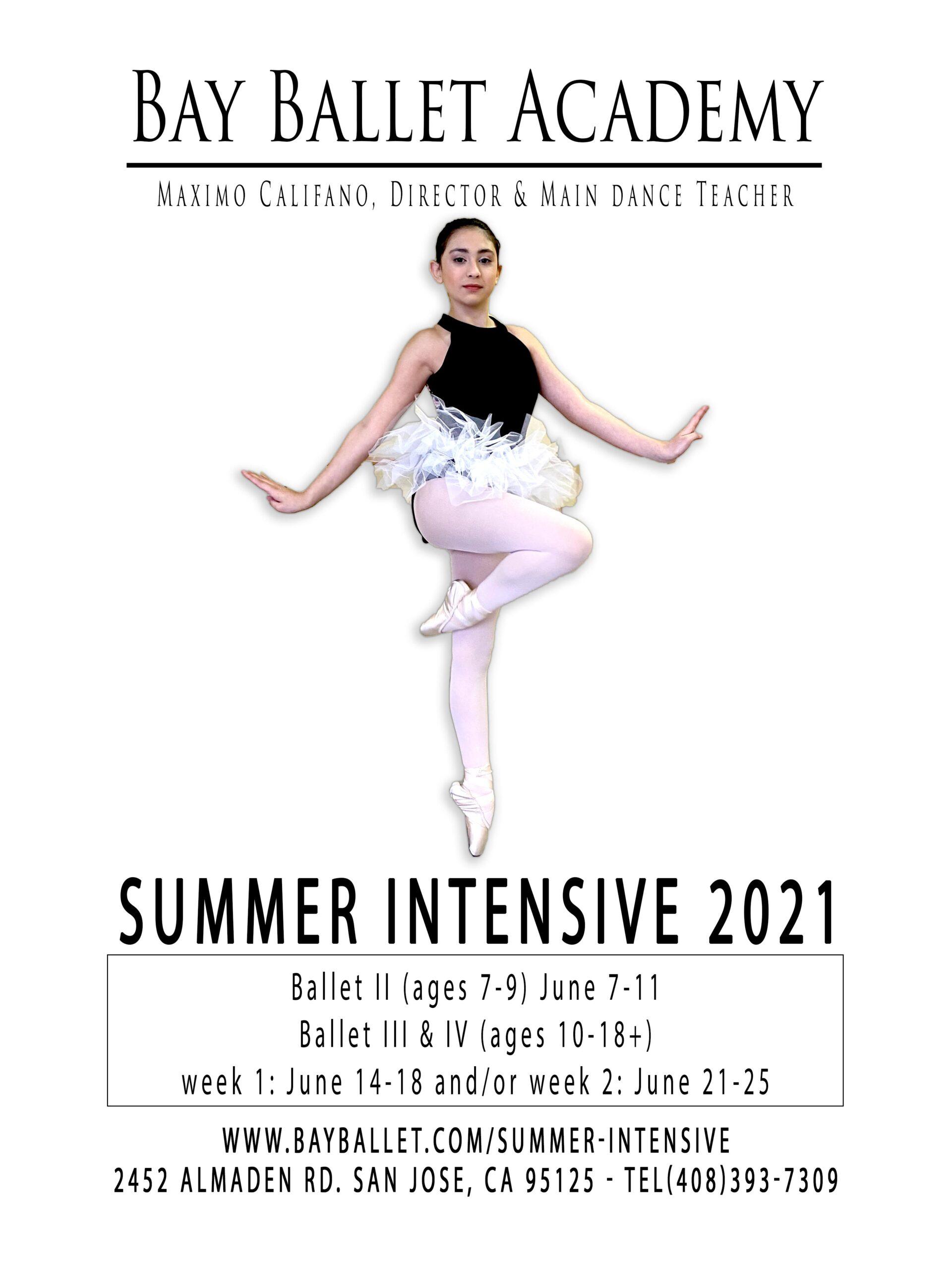 Bay Ballet Academy Summer Intensive 2021